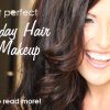 Tips to get the perfect holiday hair and makeup!