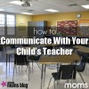 Communicating With Your Child's Teacher