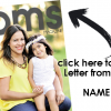Letter from the editor:              from baby(yourself) to moms